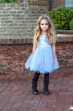 Load image into Gallery viewer, B-Girl Dress in Sky Blue, Gray or Black