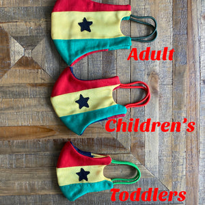 Adult, Children's & Toddlers Covid-19 Fashionable Masks