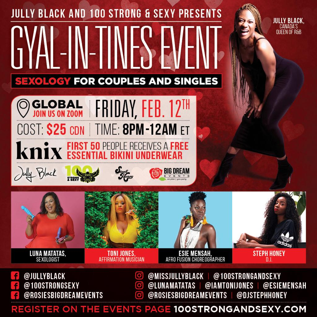 GYAL-IN-TINES Event - Sexology for Couples and Singles - REPLAY