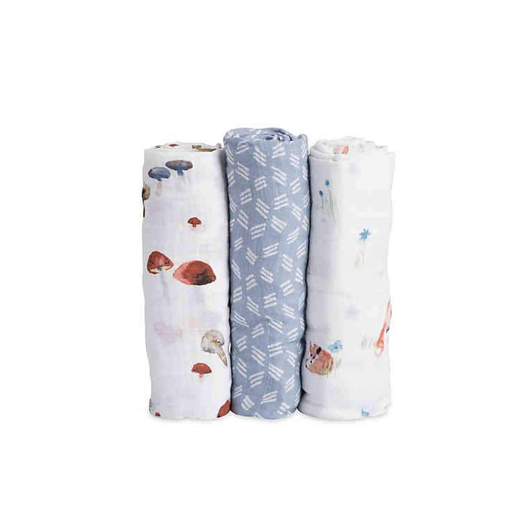 Funny Fox Swaddle 3 Pack