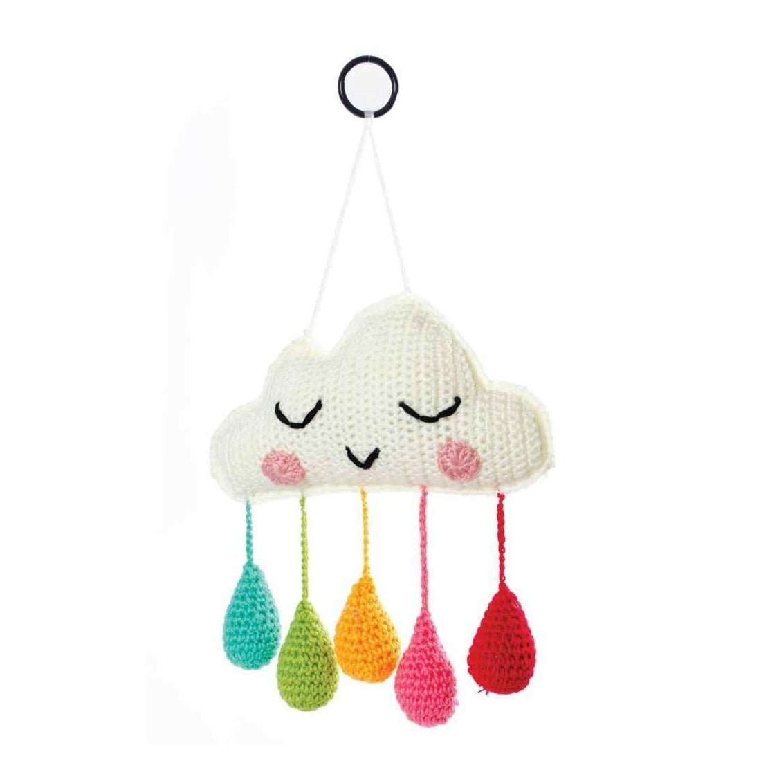 Rainbow Cloud Wall Hanging