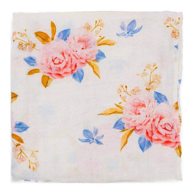Paradise Floral Swaddle Blanket
