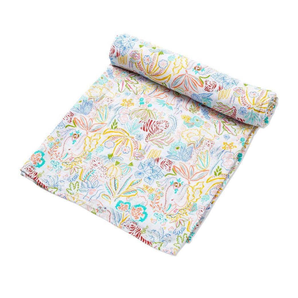 Rainforest Fiesta Swaddle Blanket