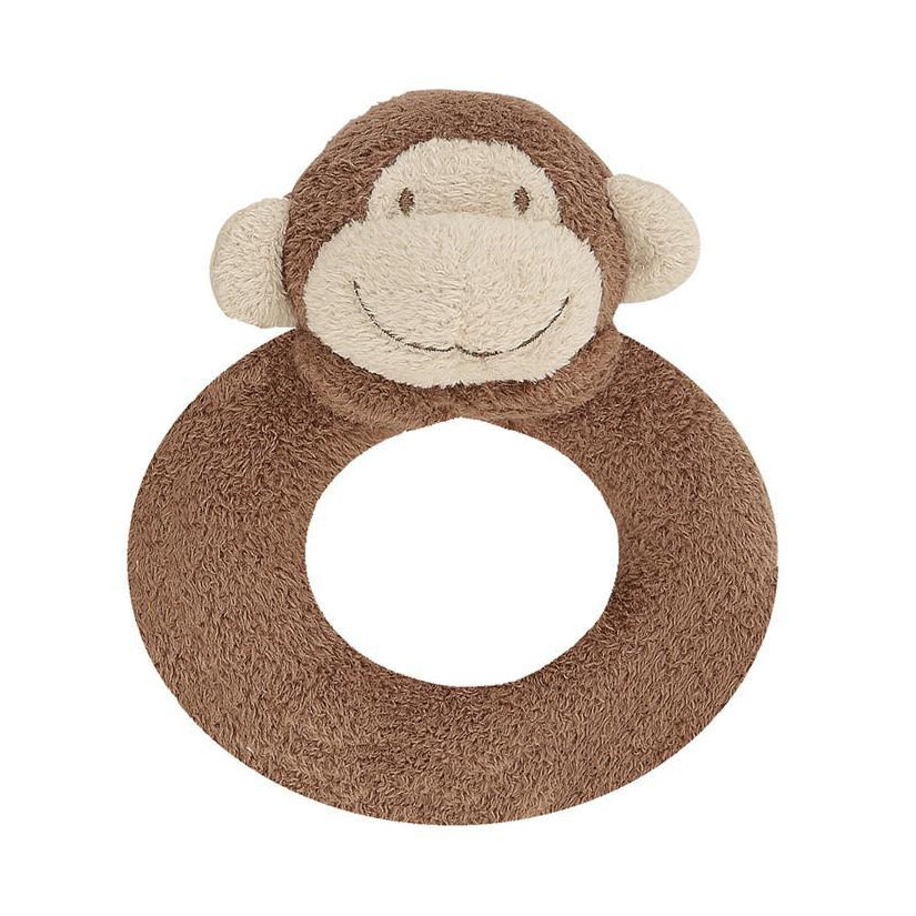 Monkey Plush Rattle