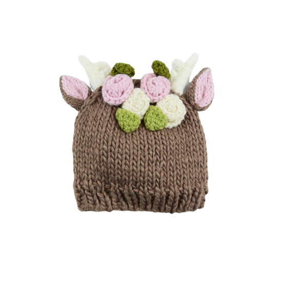 Floral Hartley Deer Hat