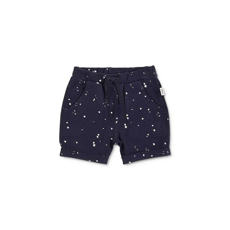 Navy Splat Shorts