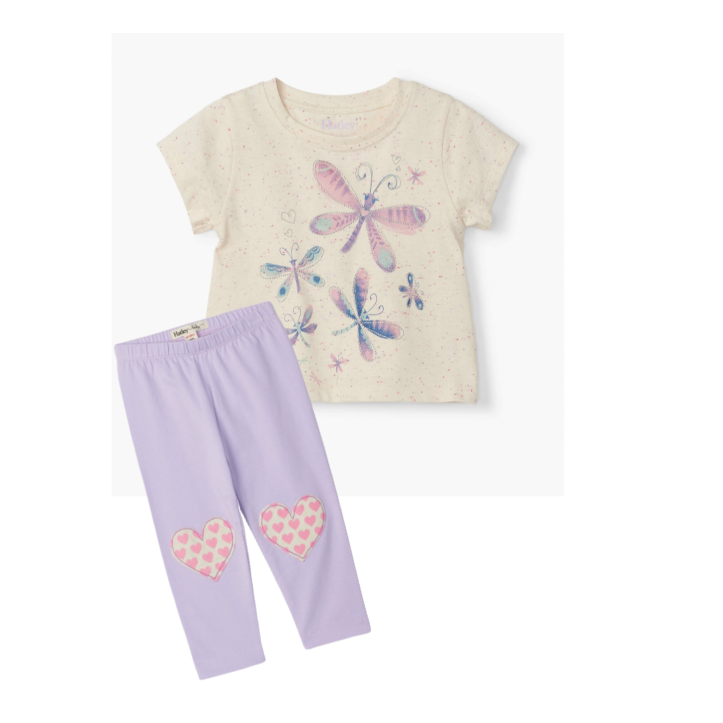 Painted Dragonflies Baby Tee Set