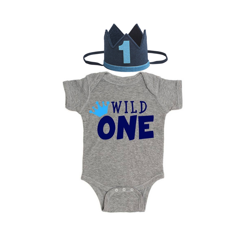 Wild One Birthday Bodysuit