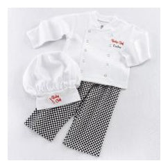 Baby Chef 3-Piece Layette Set