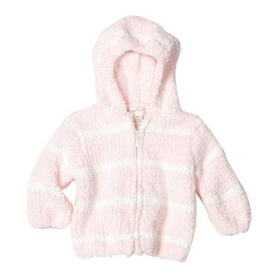 Striped Chenille Hoodie