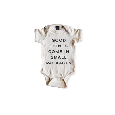 Good Things Come In Small Packages Bodysuit