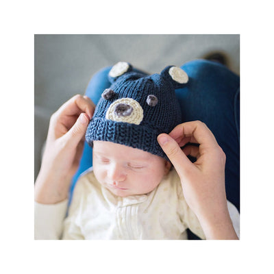 Woodland Bear Hat Knitting Kit