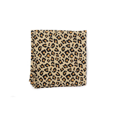 Gia Leopard Swaddle