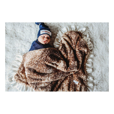 Fawn Luxe Cuddle Blanket