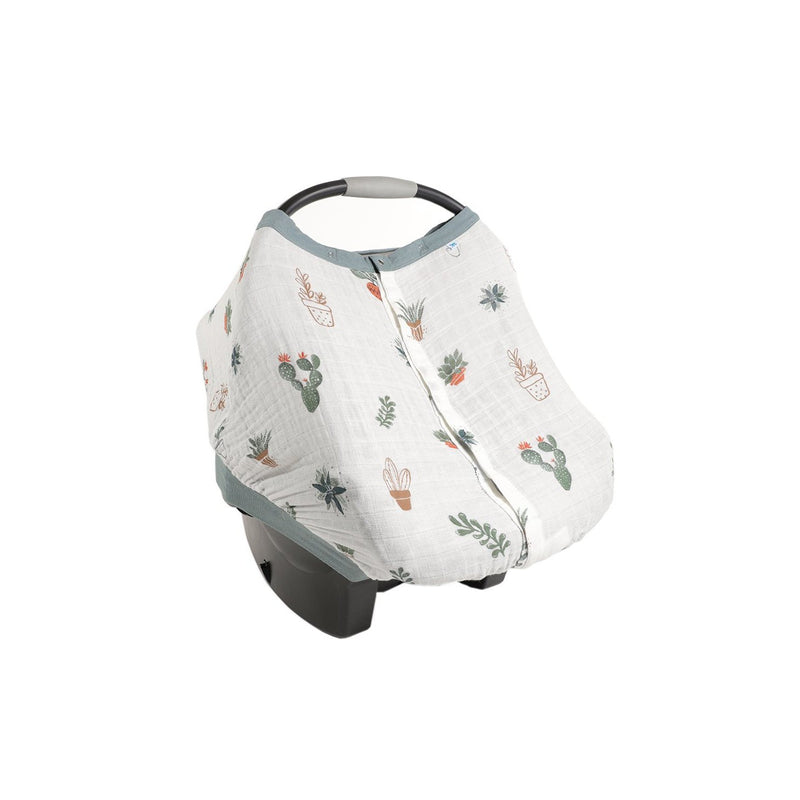 Cotton Muslin Car Seat Canopy