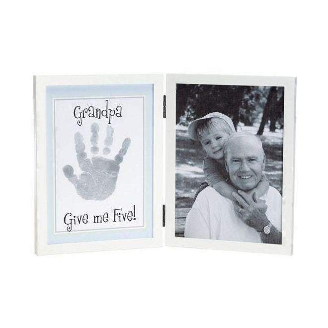 Grandpa Give Me Five Handprint Frame