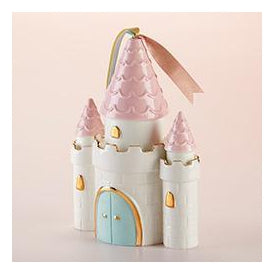 Ceramic Enchanted Castle Bank
