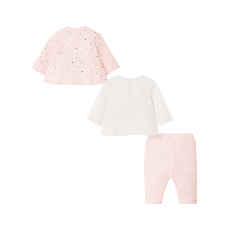 Pink Panda Three Piece Track Suit