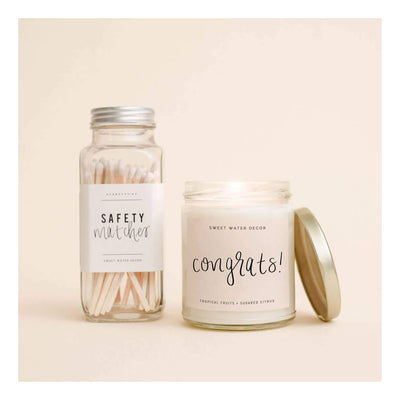Gold Jar Soy Candles