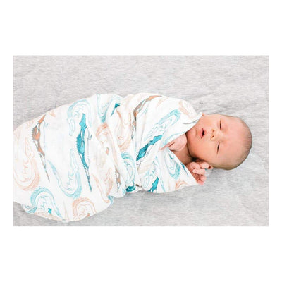 Bamboo Muslin Swaddle Blanket Sets