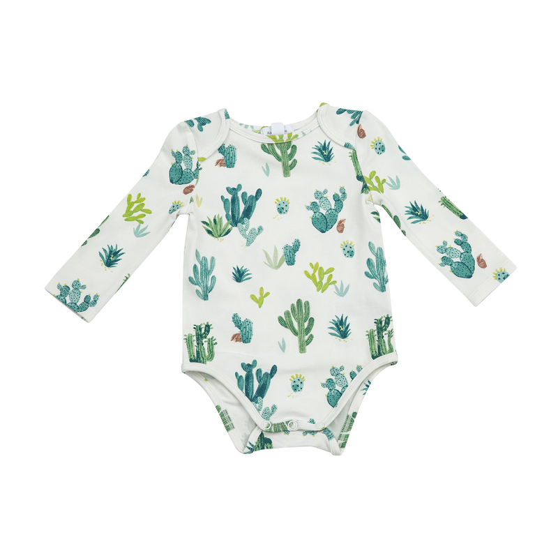 Cactus Long Sleeve Onesie