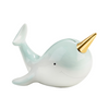Porcelain Narwhal Bank