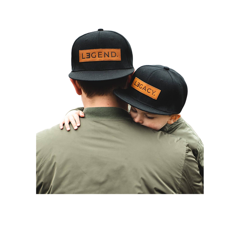 Legend and Legacy Leather Patch Hat - Kids