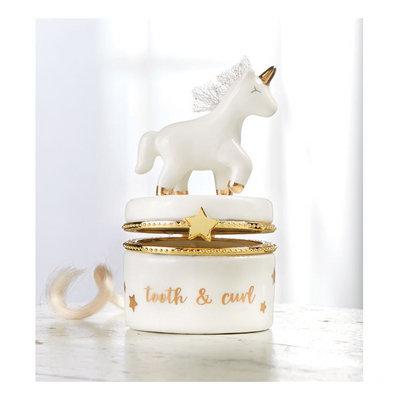 Unicorn Tooth & Curl Keepsake