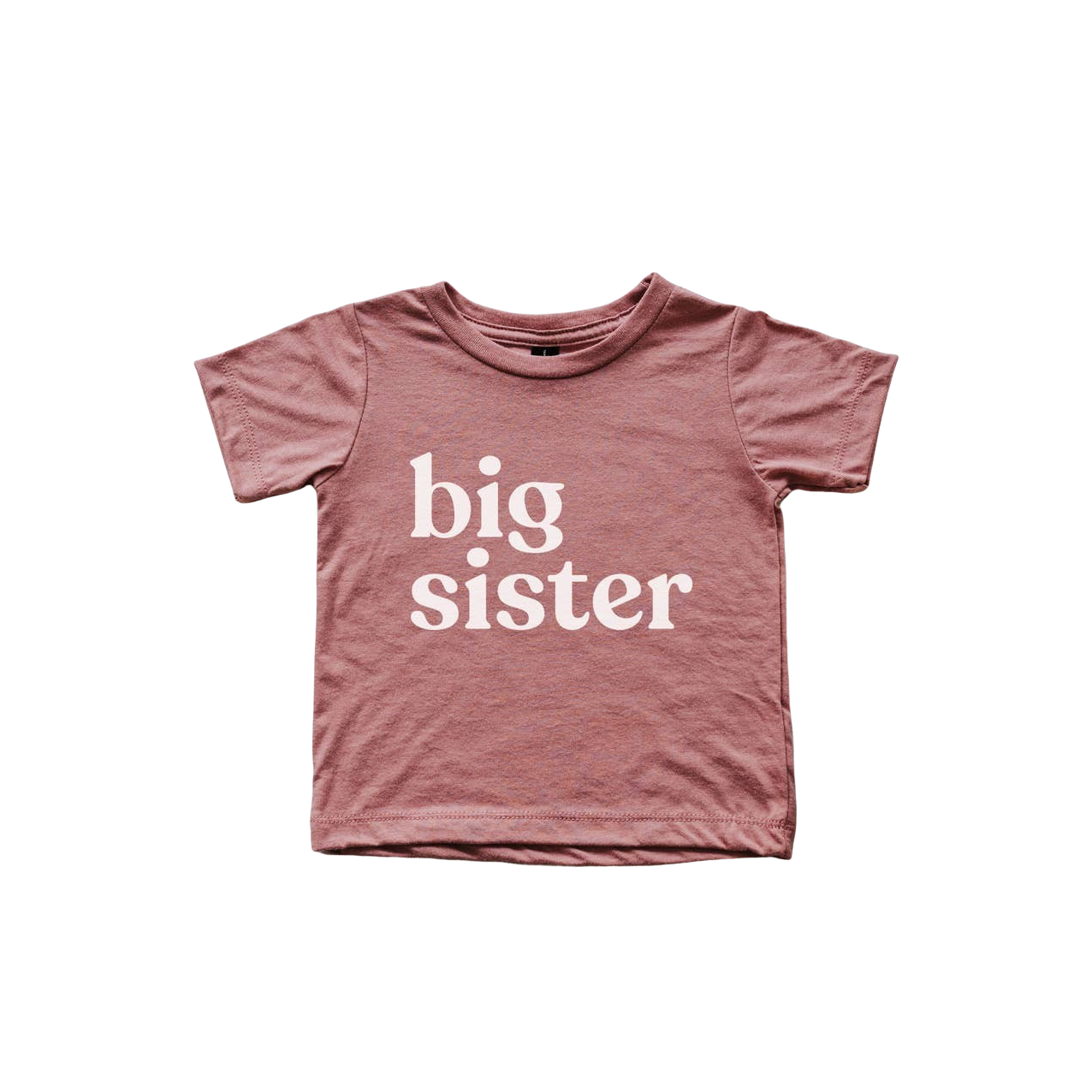 Mauve Big Sister Tee Shirt