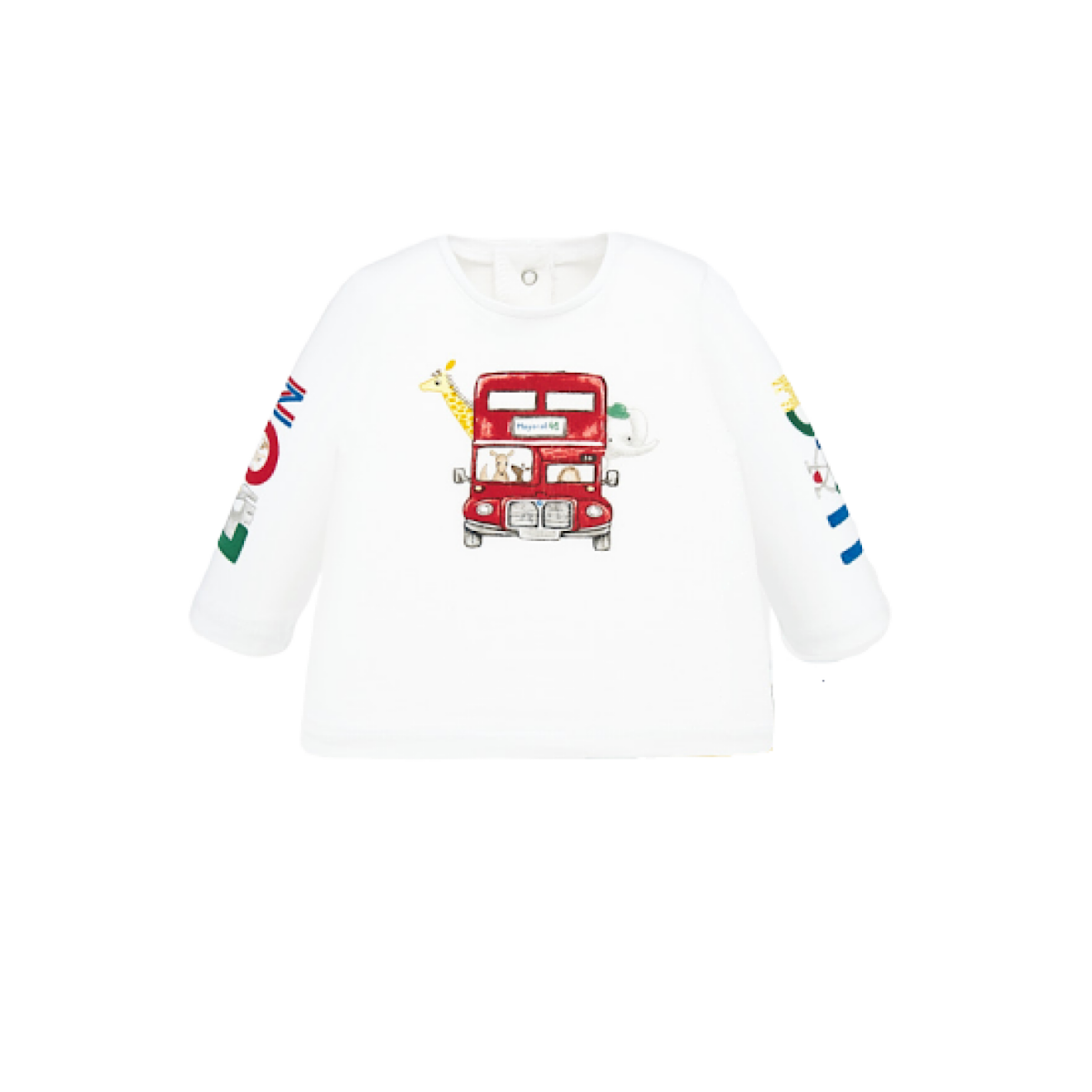 Animal Bus Long Sleeve Tee