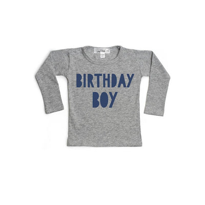 Birthday Boy Long Sleeve Shirt