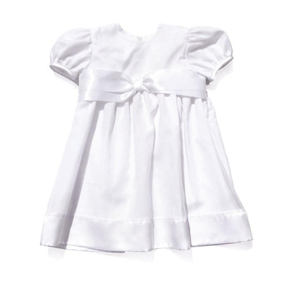 Christening Baptism Silk Gown Dress Baby Girl Tadpoles & Tiddlers Akron Cleveland Bath Ohio