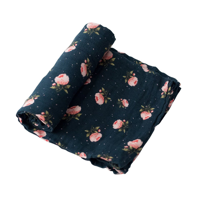 Midnight Rose Swaddle