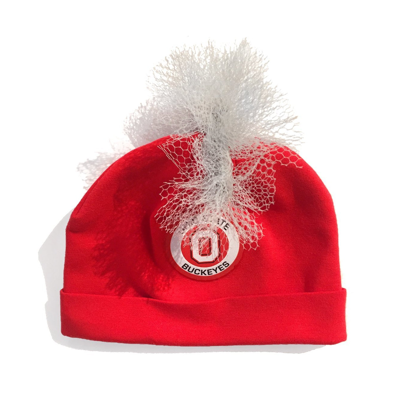 Ohio State University Red Buckeyes Mohawk Hat