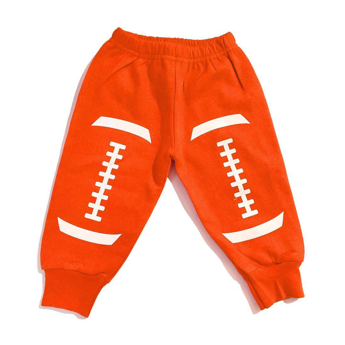 Football Sweatpants - Orange