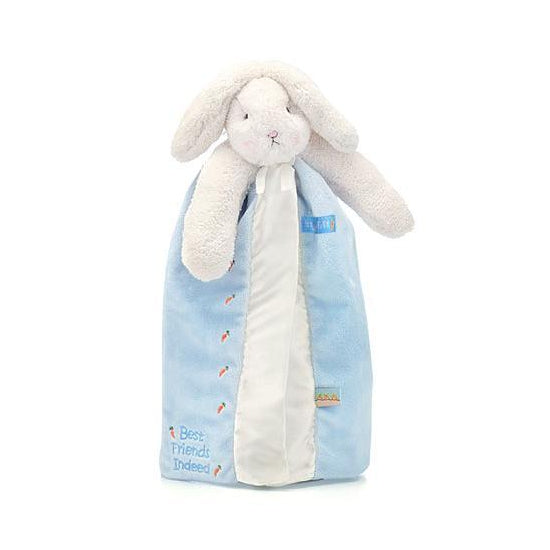 Bunnies by the Bay Bunny Buddy Blankie Blue