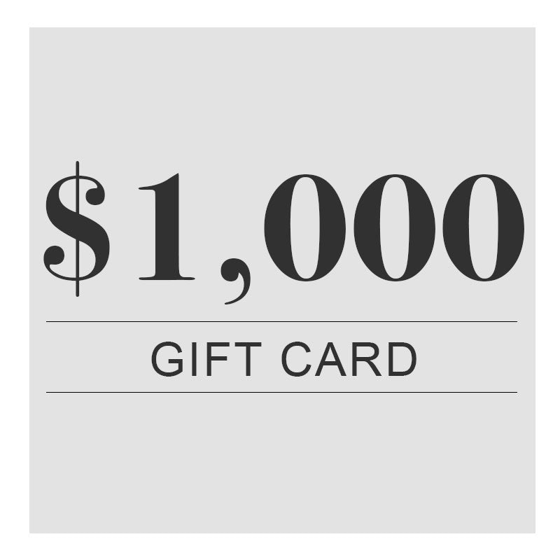$1,000 Digital Gift Card