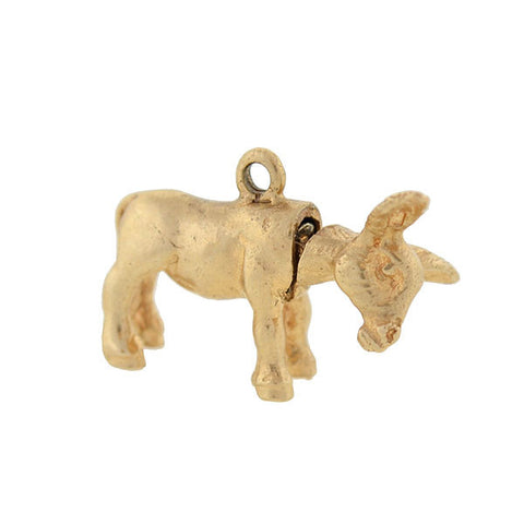 "Vintage 14kt Moveable ""Jackass"" Donkey Charm"