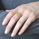 Victorian 14kt Yellow Gold Signet Ring