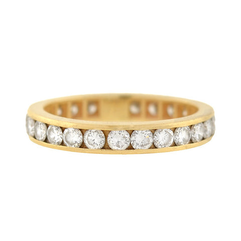 BVLGARI Estate 18kt Stacked Wide Band Ring