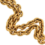 Victorian 14kt Gold Watch Chain 15.75