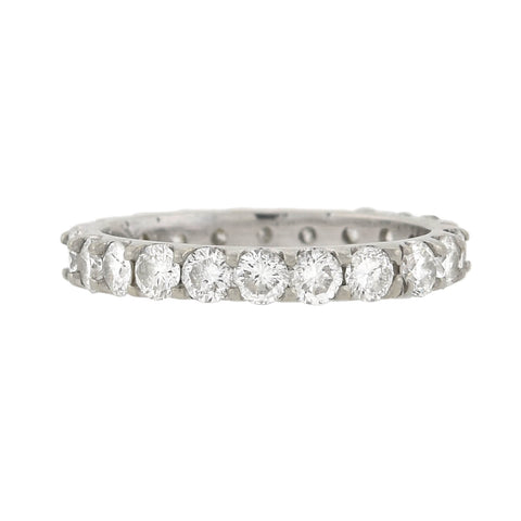 Estate 18kt Diamond Eternity Band 1.00ctw