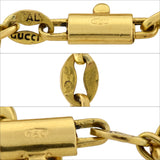 GUCCI Vintage 18kt Anchor Link Chain Necklace 32