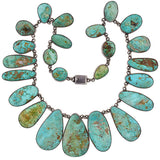 FEDERICO JIMENEZ American Indian Turquoise Necklace