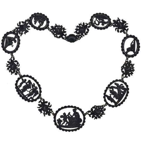 Rare Georgian Berlin Iron Necklace