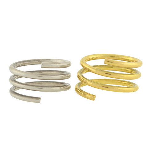 "DINH VAN for CARTIER Estate 18kt Double ""Spirale"" Twist Ring"