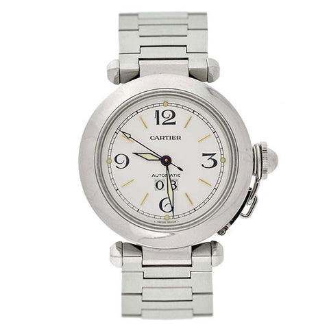 CARTIER Pasha 35mm 2475 Stainless Steel Watch