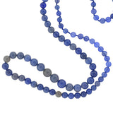 Estate Chalcedony Bead Necklace 34
