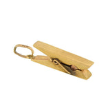 Vintage 9kt Gold Moveable Clothespin Charm