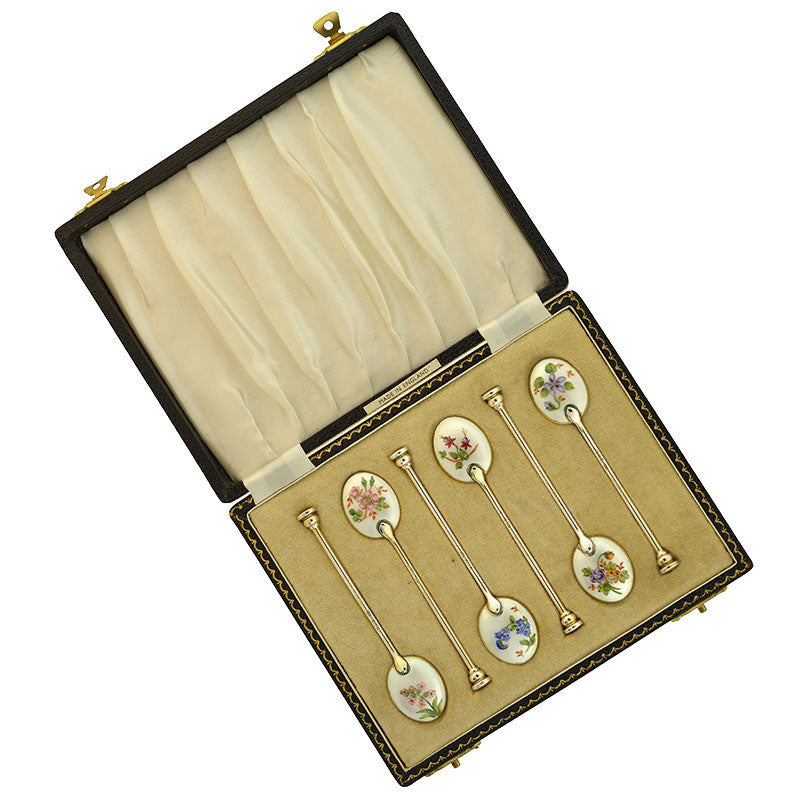 Victorian 14kt Mother of Pearl Diamond Button Cufflinks
